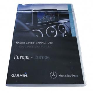 Neu Original Garmin MAP PILOT V. 8.0 2016/2017 SD-karte A2139065604 Mercedes C-Klasse W205 E W213 A213 GLC V-Klasse W447