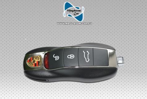 Neu Original Funkschlüssel Schlüssel Remote KEY Fernbedienung Porsche Cayenne Panamera 7PP959753BS