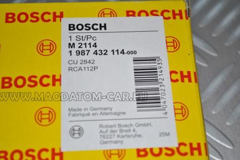 1x Neu Original BOSCH Innenraumfilter Pollenfilter Mikrofilter Vw T5 Transporter Caravelle Multivan Bosch Nr.1987432114 - Vorschau 2