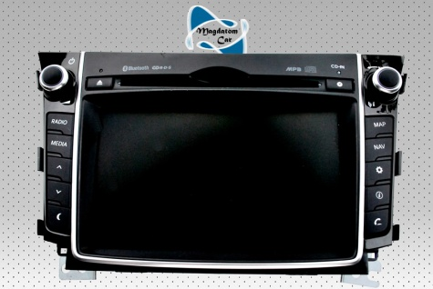 1x Neu Original Radio Navigationssystem Multimediapanel Hyundai I30 2014 96560-A6000