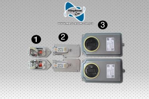 Neu Original Satz fur Voll LED Scheinwerfer Steuergerät Hauptlichtmodul BMW 7' F01 F02 F03 LCI 7354974