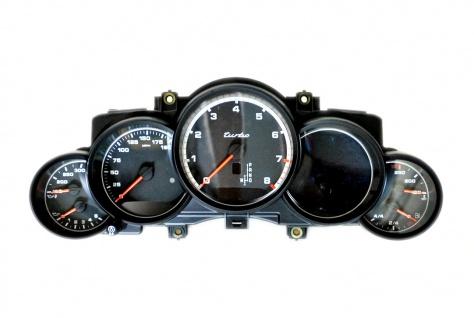Neu Original Tacho Kombiinstrument MPH USA Speedo Speedometer Clock Porsche Cayenne 958 TURBO 7P5920902H