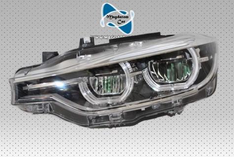 1x NEU ORIGINAL VOLL LED SCHEINWERFER OHNE KURVENLICHT LINKS SEITE BMW 3' F30 F31 LCI 7419633