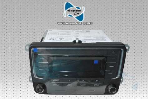 Neu Original Radio Harman SD USB Vw T6 Transporter 7E Caddy 2K5 7F0035153