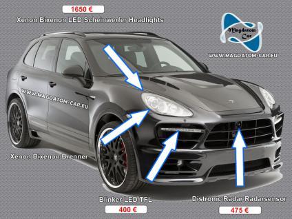 Neu Original Xenon Bixenon Brenner Birne Lampe D1S 35W fur Porsche Cayenne 957 958 2004-2014 - Vorschau