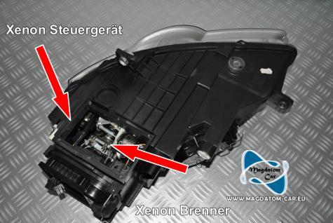 Neu Original Xenon Bixenon Steuergerät Valeo+ Xenon Brenner fur Vw Passat 3C 2006-2009 - Vorschau 2