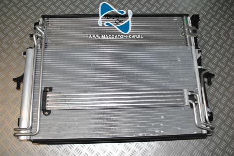 Neu Original Ölkühler Wasserkühler Klimakühler + 2x Lüfter Komplett Porsche Cayenne Touareg 7L Audi Q7 7L6121253B - Vorschau 2