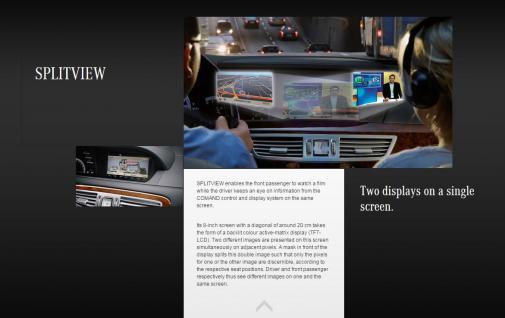 Neu Original Remote KEY Fernbedienung Splitview Mercedes S-Klasse A2228206189 - Vorschau 4