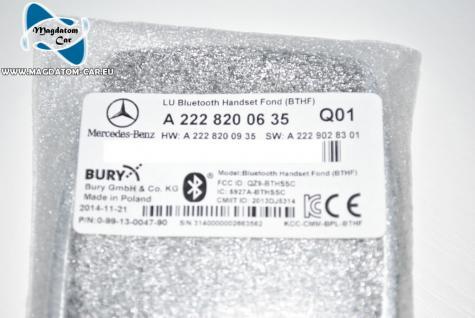 Neu Touchscreen Bedienhörer Remote Telefon Fernbedienung Mercedes S Klasse W222 A2228200635 - Vorschau 4