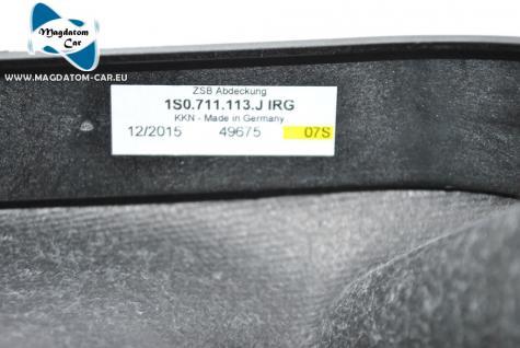 Neu Original Schaltknauf Leder 5 - Gang gear knob Vw UP 1S 1S0711113J - Vorschau 4