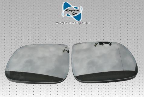 2x Neu Original Spiegel Glas Spiegelglas Elektrochrom Audi Q5 Q7