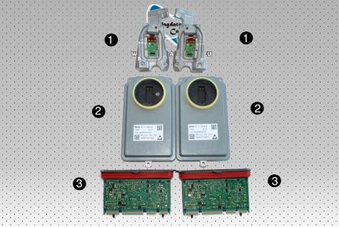 Neu Satz fur Voll Scheinwerfer LED Modul Steuergerät Hauptlichtmodul Bmw 5 F10 F11 M5
