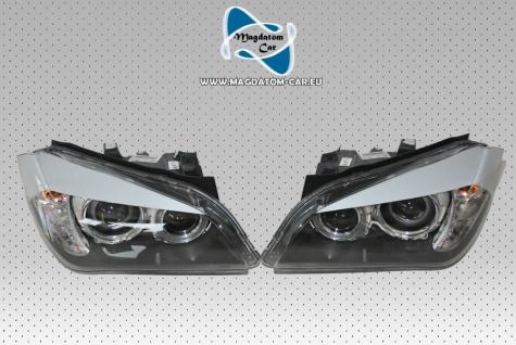 2x Neu Original Bi-Xenon Scheinwerfer Keine Facelift Ohne Kurwenlicht Komplette Rechts und Links BMW X1 E84 63112990008