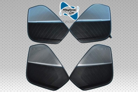 4x Neu Original Lautsprecherabdeckung B&O Bang Loudspeaker trim Audi Q7 4M 2015-2017 4M0868416B