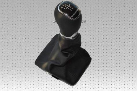 Neu Original Schaltknauf Leder Greenline 5 - Gang gear knob Skoda
