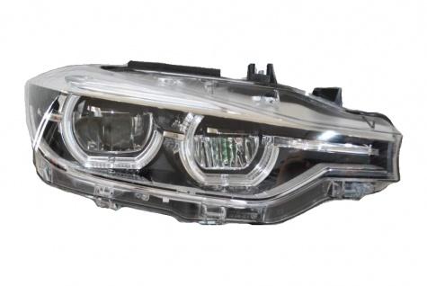 1x NEU ORIGINAL VOLL LED SCHEINWERFER OHNE KURVENLICHT RECHTS SEITE BMW 3' F30 F31 LCI 7419634