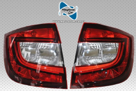 2x Neu Original Rückleuchten mit LED Heckleuchte Rechts und Links Skoda Rapid 5JH945096A