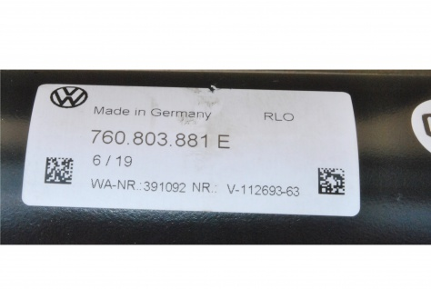 Neu Original Anhängerkupplung Komplett mit Steuergerät und Schalter AHK Volkswagen Touareg 760.803.881E - Vorschau 5