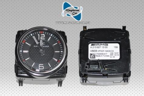 NEU AMG IWC CLOCK GENUINE Uhr Clock Analoguhr MERCEDES C63 W205 W213 W222 A2138271300