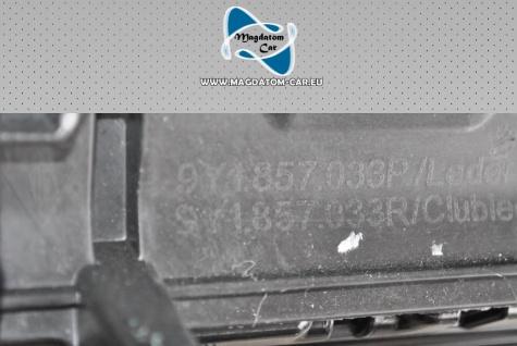 1x Neu Original Armaturenbrett Leather Dashboard Porsche Cayenne 2018 Leder Weißem Faden 9Y18570033P - Vorschau 4