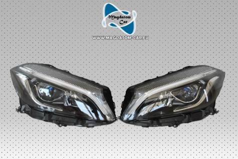2x Neu Original VOLL LED Scheinwerfer Headlights Links & Rechts Fur Mercedes A-Klasse W176 A176
