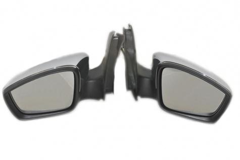 Neu Original Spiegel mit Glas Komplette Rechts und Links CHROM Volkswagen UP 1S1857502AM