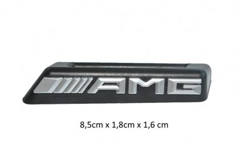 1x Neu AMG Schriftzug Emblem Logo Grill Kühlergrill tuning Mercedes-Benz W205 C63 W117 C117 CLA45 A45 W2012