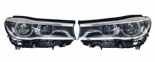 2x Original Gebrauchte Scheinwerfer LASER LED Laserlight BMW 7' G11 G12 7408703