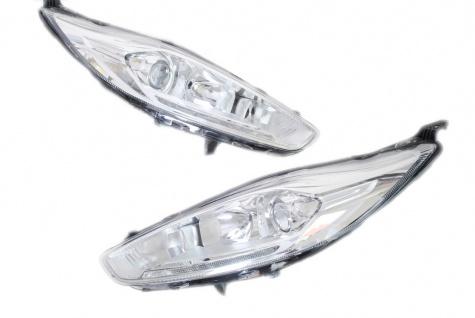 2x Neu Original Scheinwerfer HALOGEN TFL DRL Ford Fiesta MK7 2011-2012 C1BB 13W029 CH