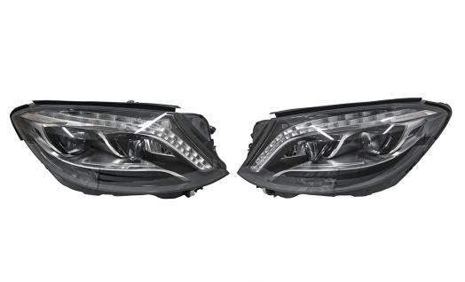 2x Neu Original VOLL LED ILS Scheinwerfer Headlights NIGHT VISION Komplett Mercedes S-Klasse W222 A2229069002