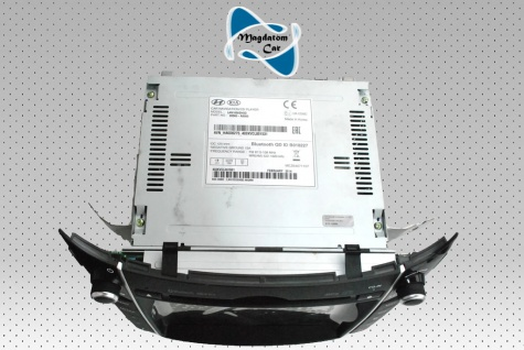 1x Neu Original Radio Navigationssystem Multimediapanel Hyundai I30 2014 96560-A6000 - Vorschau 5