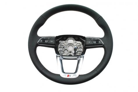 Neu Original Lenkrad Leder + Multifunktion Steering Wheel S-Line Ohne AirBag AUDI Q3 83A419091H
