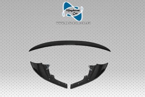 Neu Original CARBON Set Splitters Stoßstange Spoiler BMW M-performance M2 F87 51122361665 / 51112361671