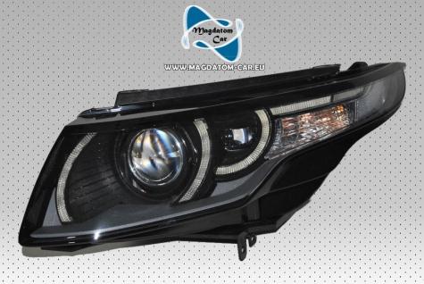 1x Neu Original Scheinwerfer Xenon Bi-Xenon Schwarz Links Mit Kurvenlicht Links Seite Range Rover Evoque