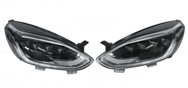 2x Neu Original Scheinwerfer Led Frontscheinwerfer Komplett Ford Fiesta MK8 H1BB-13E015-AE