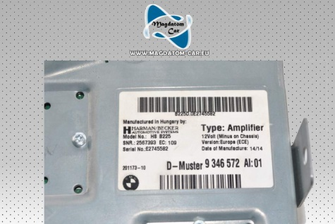 Neu Original Verstärker Amplifier Harman Kardon Bmw 1 F20 F22 F23 i3 i8 Mini F55 F56 9346572 - Vorschau 5