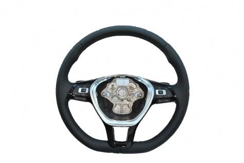 Neu Original Lenkrad DSG Steering Wheel Schwarz Leder + Multifunktion Ohne AirBag fur Vw Passat B8 Golf 7 Plus Jetta 5G0419091