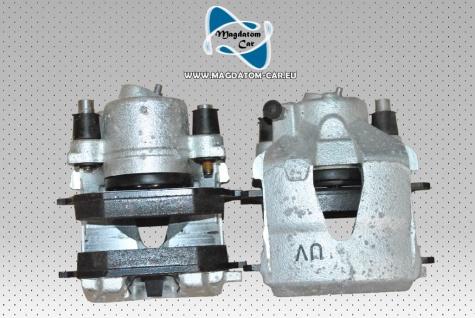 2x Neu Original Bremssattel Bremszange mit Neu Bremsbeläge Vorne rechts und links ATE Audi VW Skoda Seat