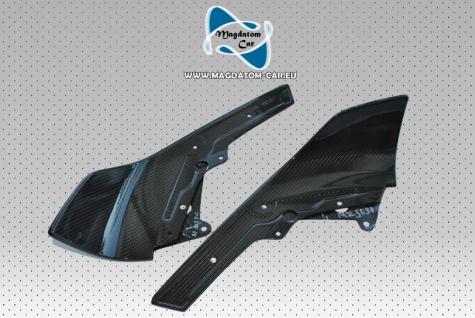 2x Neu Original CARBON Splitters Stoßstange front Spoiler BMW M-performance M2 F87 F22 F23 51112361671