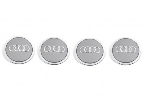 4x Neu ORIGINAL Nabenabdeckung Nabeldeckel Audi A4 A5 A6 A7 A8 Q5 RS4 RS5 RS6 RS7 TTRS COUPE 8T0601170A7ZJ