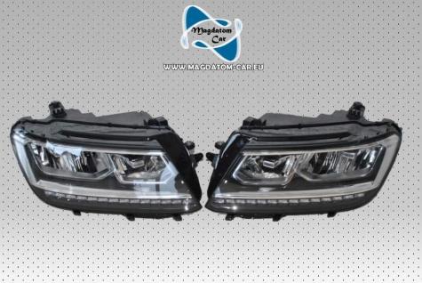 2x Neu Original VOLL LED Scheinwerfer Headlights Komplett Vw Tiguan 2 5NB941035B