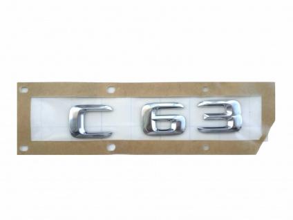 Neu Original Schriftzug C63 Emblem Mercedes W204 S204 W205 S205 C63