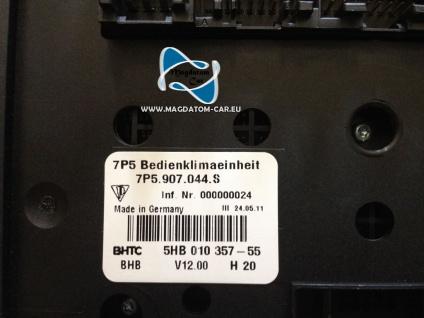 Neu Original Klima Bedienteil Klimabedienteil Porsche Cayenne 958 2011-2013 7P5907044M - Vorschau 5