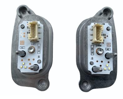 2X NEU ORIGINAL MODULE LED TFL DRL FUR XENON BIXENON SCHEINWERFER AUDI A3 S3 E-TRON 8V0998474 8V0998473