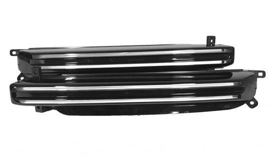 2x Original Neu Tagfahrlichtleuchten mit Blinker LED PORSCHE CAYENNE Turbo 9Y0 E3 2018 9Y0953049B