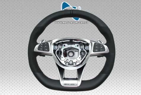 Neu Original AMG Performance Lenkrad Steering Wheel Schwarz Leder + Multifunktion Mercedes W217 W176 C292 R231 W172 X166 W218 X156 C117 A1664601618