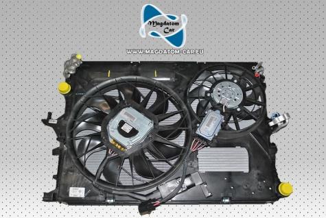 Neu Original Ölkühler Wasserkühler Klimakühler + 2x Lüfter Komplett Porsche Cayenne Touareg 7L Audi Q7 7L6121253B
