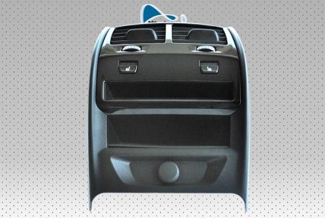 Neue Originalrahmen-Tunnelabdeckung hinten + Frischluftdüse + Schalter Control Sitzheizung + Eingang unter dem Feuerzeug BMW 5' G30 G31 9330681