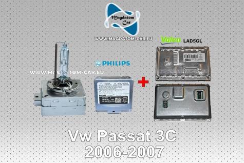 Neu Original Xenon Bixenon Steuergerät Valeo+ Xenon Brenner fur Vw Passat 3C 2006-2009 - Vorschau 1