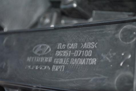 Neu Original Grill Kühlergrill Kühlergitter Frontgrill Hyundai Tucson 2015-16 86350-D7100 - Vorschau 3